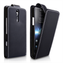 Yousave Accessories Sony Xperia S Flip Pu Black Case