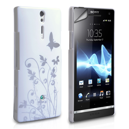 Yousave Accessories Sony Xperia S IMD White Case