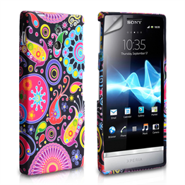 Yousave Accessories Sony Xperia P Jellyfish Case