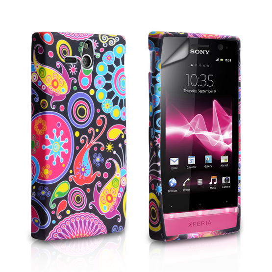 Yousave Accessories Sony Xperia U Jellyfish Case