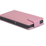 Yousave Accessories Sony Xperia Z PU Flip Baby Pink Case