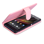 Yousave Accessories Sony Xperia Z PU Wallet Baby Pink Case
