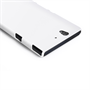 Yousave Accessories Sony Xperia Z Hard Hybrid Case - White