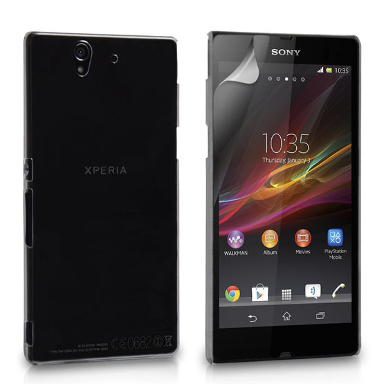 Yousave Accessories Sony Xperia E Crystal Clear Clear Case