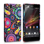 Yousave Accessories Sony Xperia E Jellyfish Pattern Gel Case
