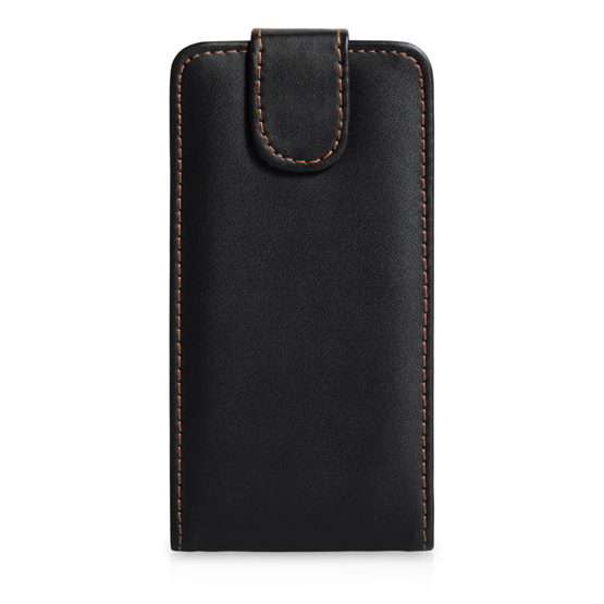 Yousave Accessories Sony Xperia SP Leather Effect Flip Case - Black