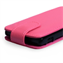 Yousave Accessories Sony Xperia SP PU Flip Hot Pink Case