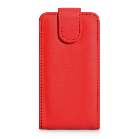 Yousave Accessories Sony Xperia SP PU Flip Red Case