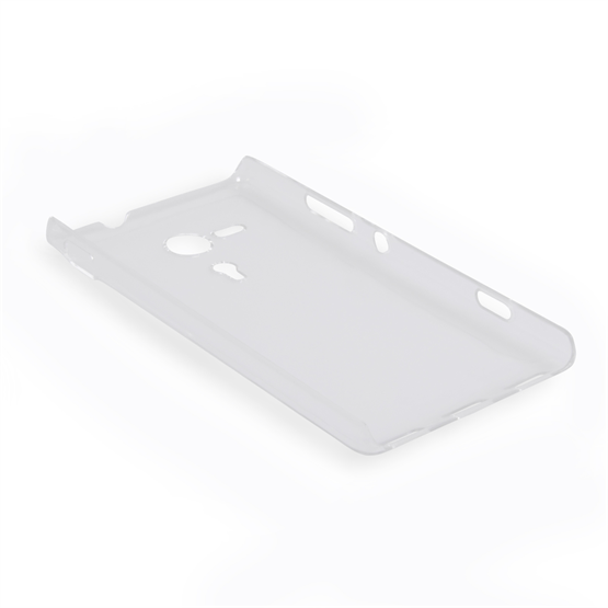 Yousave Accessories Sony Xperia SP Crystal Clear Case