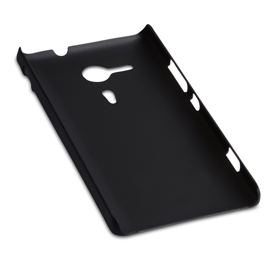 Yousave Accessories Sony Xperia SP Hybrid Black Case