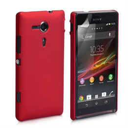 Yousave Accessories Sony Xperia SP Hybrid Red Case