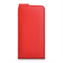 Yousave Accessories Sony Xperia M PU Flip Red Case