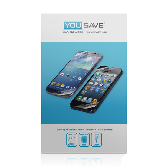 Yousave Accessories Sony Xperia M Screen Protectors X 5 - Clear