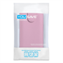 Yousave Accessories Sony Xperia Z1 PU Flip Baby Pink Case