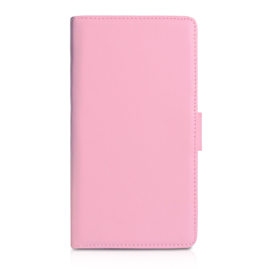 Yousave Accessories Sony Xperia Z1 PU Wallet Baby Pink Case