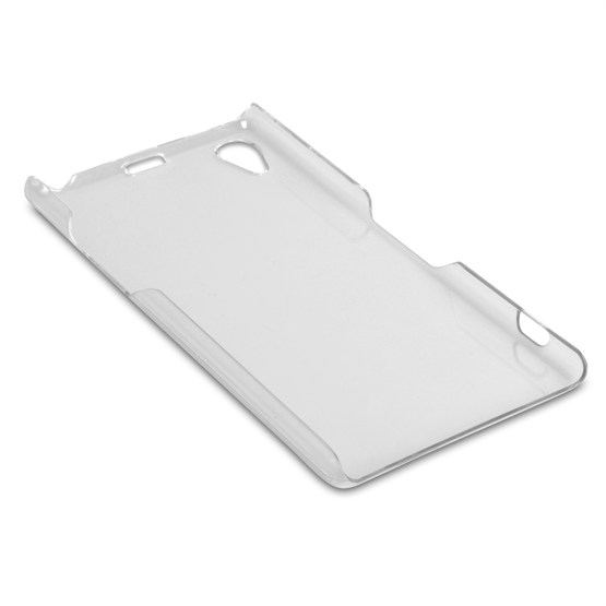 Yousave Accessories Sony Xperia Z1 Hard Case - Crystal Clear