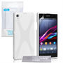 Yousave Accessories Sony Xperia Z1 X-Line White Case
