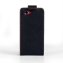 Yousave Accessories Sony Xperia Z1 Compact Leather-Effect Flip Case - Black