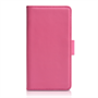 Yousave Accessories Sony Xperia Z1 Compact Leather-Effect Wallet Case - Hot Pink