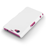 Yousave Accessories Sony Xperia Z1 Compact Hard Hybrid Case - White