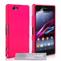 Yousave Accessories Sony Xperia Z1 Compact Hard Hybrid Case - Hot Pink