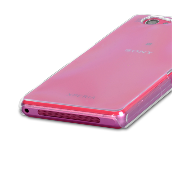 Yousave Accessories Sony Xperia Z1 Compact Hard Case - Crystal Clear