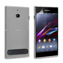 Yousave Accessories Sony Xperia E1 Silicone Gel Case - Clear