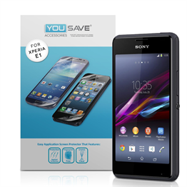 Yousave Accessories Sony Xperia E1 Screen Protector - 3 Pack