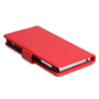 Yousave Accessories Sony Xperia Z2 Leather-Effect Wallet Case - Red