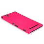 Yousave Accessories Sony Xperia T2 Ultra Hard Hybrid Case - Hot Pink