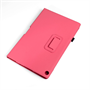 Yousave Accessories Sony Xperia Z2 Pu Stand Hot Pink Case