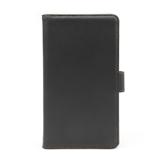 Yousave Accessories Sony Xperia C3 Leather-Effect Wallet Case - Black