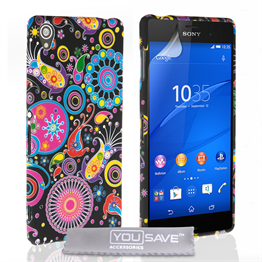 Yousave Accessories Sony Xperia Z3 Jellyfish Silicone Gel Case