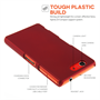 Yousave Accessories Sony Xperia Z3 Compact Hard Hybrid Case - Red
