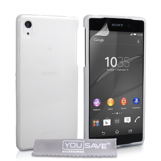 Yousave Accessories Sony Xperia Z4 Compact Silicone Gel Case - Clear