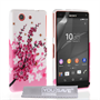 Yousave Accessories Sony Xperia Z4 Compact Floral Bee Silicone Gel Case
