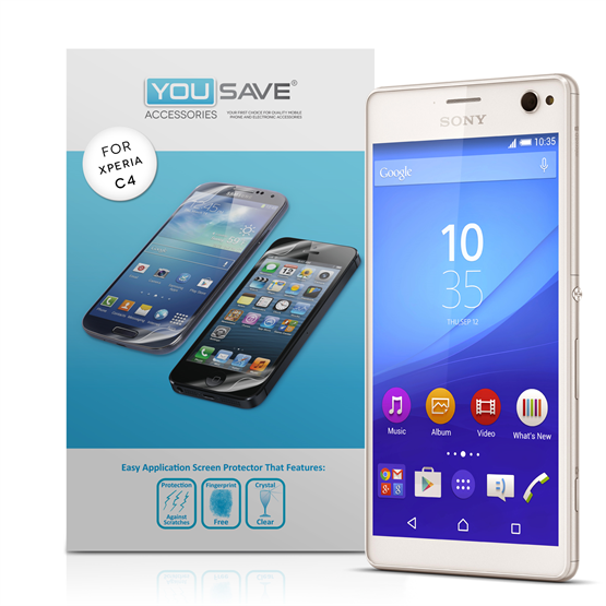 YouSave Sony Xperia C4 Screen Protectors (3 Pack)