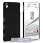 Yousave Accessories Sony Xperia Z5 Hard Hybrid Case - Black