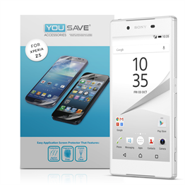 Yousave Accessories Sony Xperia Z5 Screen Protectors - 5 Pack