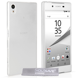 Yousave Accessories Sony Xperia Z5 Compact 0.6mm Ultra-Thin Clear Gel Case