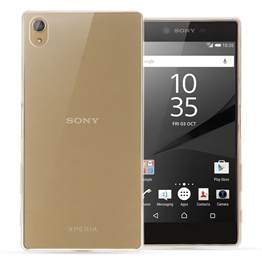Yousave Accessories Sony Xperia Z5 Premium Ultra Thin Clear Gel Case