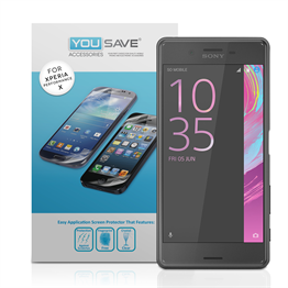 YouSave Accessories Sony Xperia X Performance Screen Protectors x5