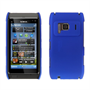 Yousave Accessories Nokia N8 Blue Hybrid Hard Case
