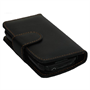 Yousave Accessories Samsung Galaxy Apollo Black PU Leather Wallet