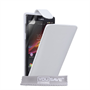 Yousave Accessories Sony Xperia Z Trade PU Flip White Case