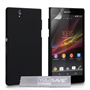 Yousave Accessories Sony Xperia Z Trade Hybrid Black Case