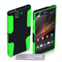 Yousave Accessories Sony Xperia Z Trade Mesh Combo Green Case
