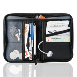 YOUSAVE TRAVEL DOCUMENT CASE - BLACK