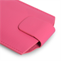 Yousave Accessories Hot Pink Lichee PU Leather Pouch (S)